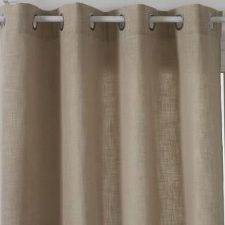Rideau Clem - 140 x 260 cm - Couleur lin