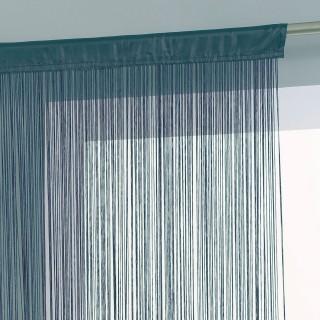 Rideau fils - 120 x 240 cm - Bleu orage