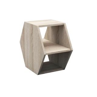 Table à café design Gift - L. 33 x H. 60 cm - Beige