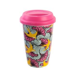 Mug de voyage Wax - Double paroi - Rose