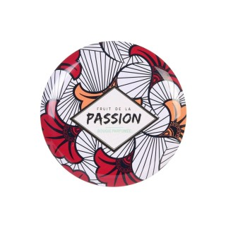 Bougie parfumée en boîte ethnique Wax - Senteur passion