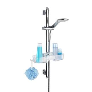 Etagère de douche Linoa - L. 36 cm - Transparent