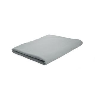 Drap plat Zinc - 100% coton 57 fils - 180 x 290 cm - Gris