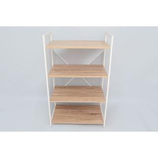 Etagère industrielle Ladder - L. 60 x H. 98 cm - Blanc