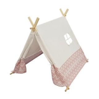 Tente pour enfant Indie - L. 110 x H. 106 cm - Beige