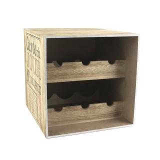 Cave à vin en bois - 6 Bouteilles - Cuvée du jour