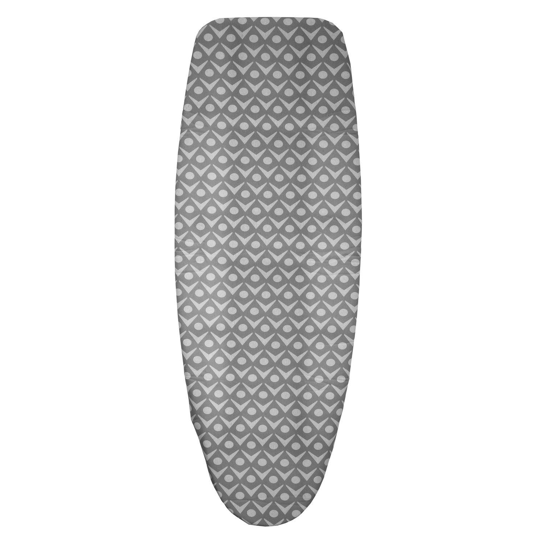 Housse de table à repasser - Triple épaisseur - T6 - Gris clair
