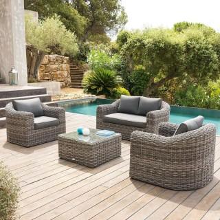 Salon de jardin pour un extérieur haut en couleur - Toilinux