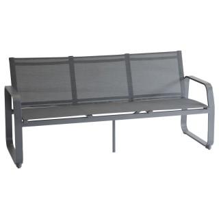 Canapé de jardin Gili - 3 Places - Gris graphite