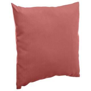 Coussin de jardin Déco - 40 x 40 cm - Rouge marsala