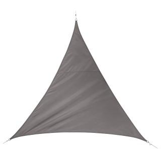 Voile d'ombrage triangulaire Quito - L. 400 cm - Bronze