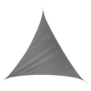 Voile d'ombrage triangulaire Quito - L. 500 cm - Gris ardoise