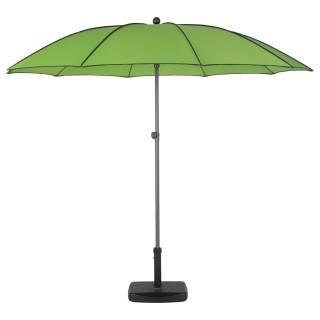 Parasol droit rond Bogota - Inclinable - Diam. 250 cm - Vert