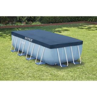 Bâche pour piscine tubulaire rectangulaire - L. 400 x l. 200 cm