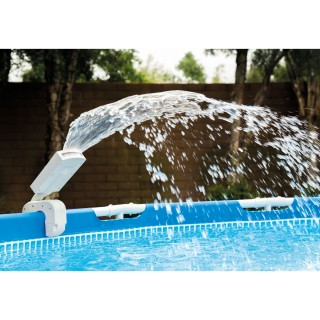 Fontaine LED multicolore pour piscine