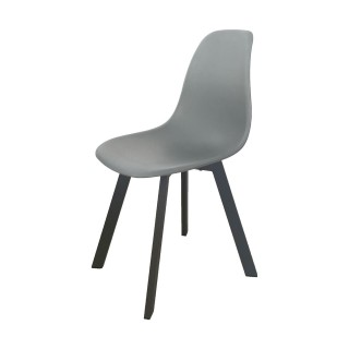Chaise de jardin moderne Ibis - Taupe