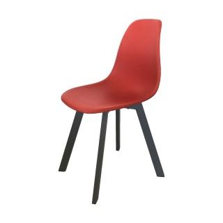 Chaise de jardin moderne Ibis- Rouge