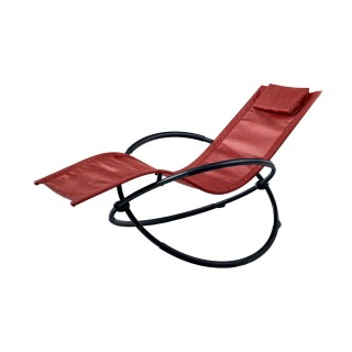 Transat rocking chair Mahé - Rouge