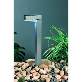 Lampe solaire à planter en aluminium - H. 42,5 cm