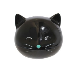 Tirelire enfant Chat - Noir