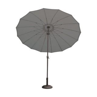 Parasol droit rond Orfeas - Diam. 270 cm - Gris anthracite