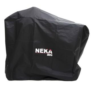Housse de protection pour barbecue - L. 125 x H. 90 cm - Noir