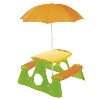 Table pique-nique enfant Summertime - Orange