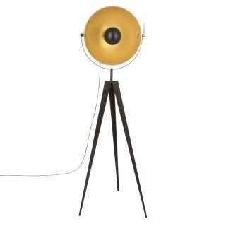 Lampadaire trépied indus Tipo - H. 152 cm - Noir