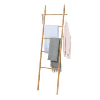 Echelle porte-serviette en bambou Bahari - L. 43 x H. 170 cm