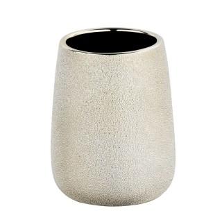 Gobelet de salle de bain design Glimma - Doré