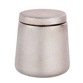 Pot de rangement salle de bain design Glimma - Rosé