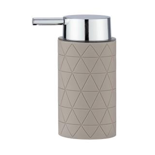 Distributeur de savon design Casella - Taupe
