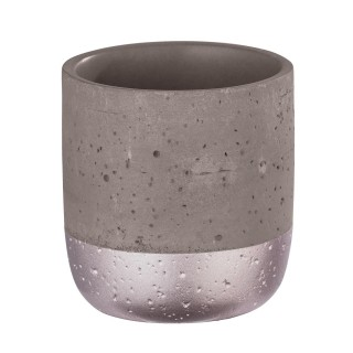 Gobelet de salle de bain design Mauve - Gris rosé