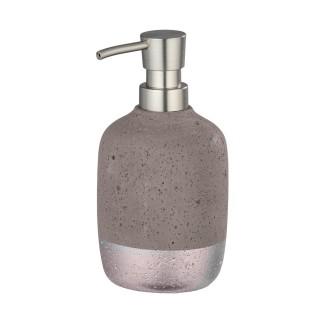 Distributeur de savon design Mauve - Gris rosé