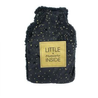 Bouillotte design little Wish - 1 L - Noir