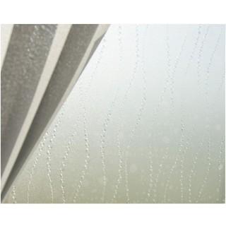 Film décoratif pour vitre vitrostatique Bulle - 150 x 45 cm - Transparent