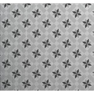 Crédence adhésive en aluminium Carreaux - L. 70 x l. 40 cm - Gris