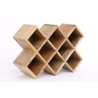 Etagère à épices en bois Compto - L. 25 x H. 17 cm