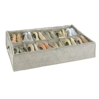 Boîte range chaussure Billy - 12 Paires - L. 74 x l. 60 cm