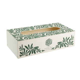Boîte à mouchoirs Jungle - Vert