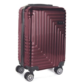 Valise cabine rigide Madrid - H. 56 cm - 35 L - Bordeaux