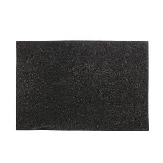 Set de table design Paillettes - L. 45 xl. 30 cm - Noir