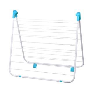Séchoir étendoir pour baignoire - 10 m d'étendage - Bleu