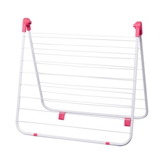 Séchoir étendoir pour baignoire - 10 m d'étendage - Rose