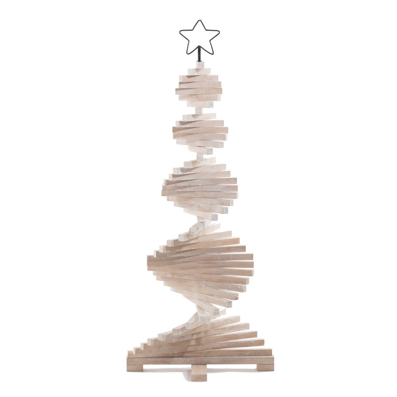 Sapin De Noel Suspendu En Bois sapin de noël en bois articulé lodge - h. 113 cm - toilinux