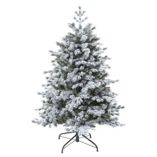 Sapin de Noël artificiel eneigé Yukon - H. 150 cm - Vert