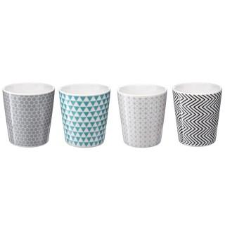 4 Mugs design Grafika - 260 ml