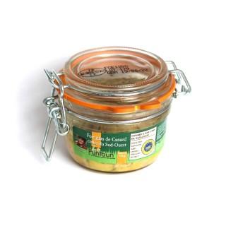 Foie gras de canard entier du Sud Ouest IGP - La Ferme du Puntoun - bocal : 120g