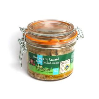 Foie gras de canard entier du Sud Ouest IGP - La Ferme du Puntoun - bocal : 300g