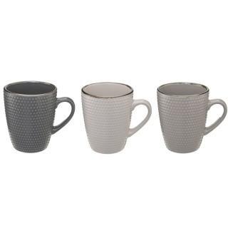 3 Mugs scandinaves Perle - 320 ml